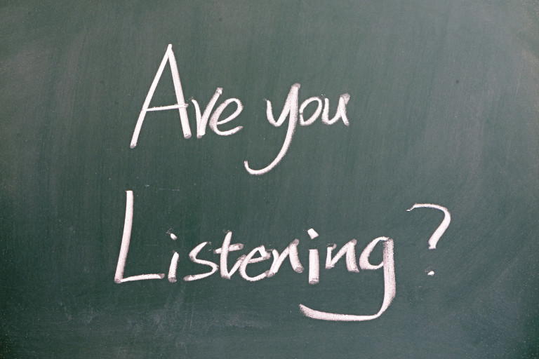 HAVE YOU BEEN LISTENING DEEPLY?